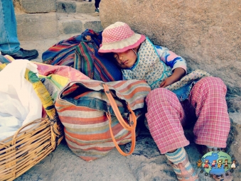 Child near Ollantaytambo, Peru