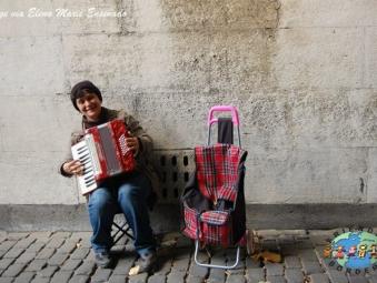 Street Musician in Amsterdam