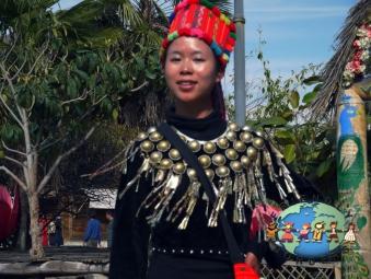 Jingpo woman, China